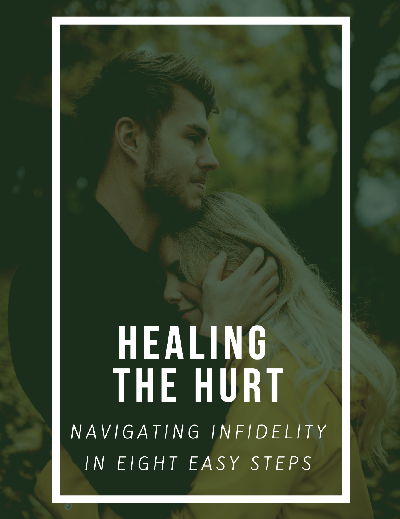 Healing the Hurt e-book - Navigate infidelity in eight, easy steps. Journey along with a couple that has survived an intimate betrayal while learning what clear and practical steps your relationship can take. Plus worksheets to guide self-reflection and relational growth. Don't suffer any longer!