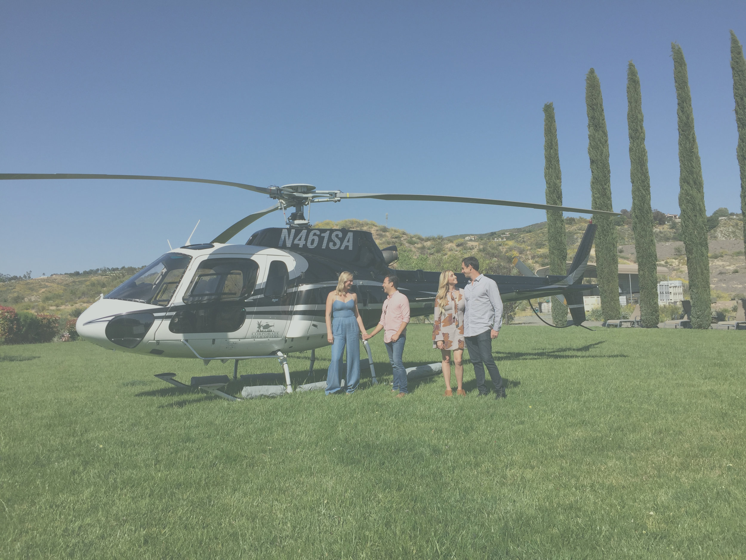 live like a local - February is the month for love & romance, so why not spice it up a bit! Local company, Corporate Helicopters is doing ocean view tours for discounted rates, and don't miss out on their fancy wine tours to Temecula. #loveisintheair