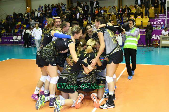 Right after we won 15-13 in the golden set vs. Targoviste, Romania.