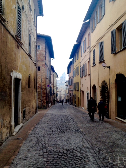 One last stroll through Urbino.