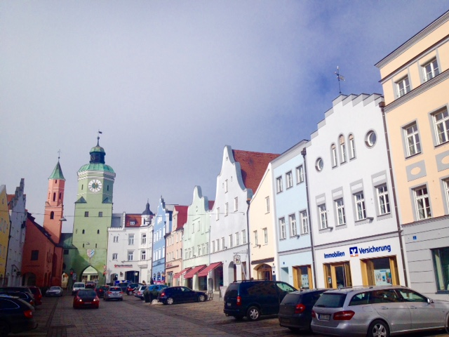 My new home - Vilsbiburg.