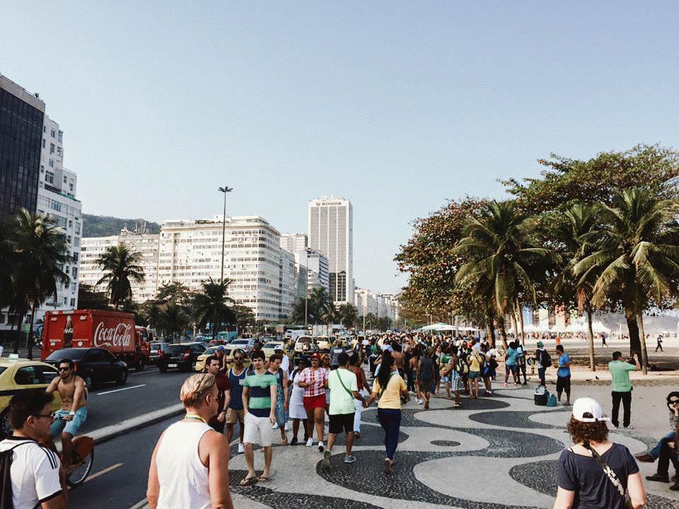 The infamous Ipanema sidewalks!