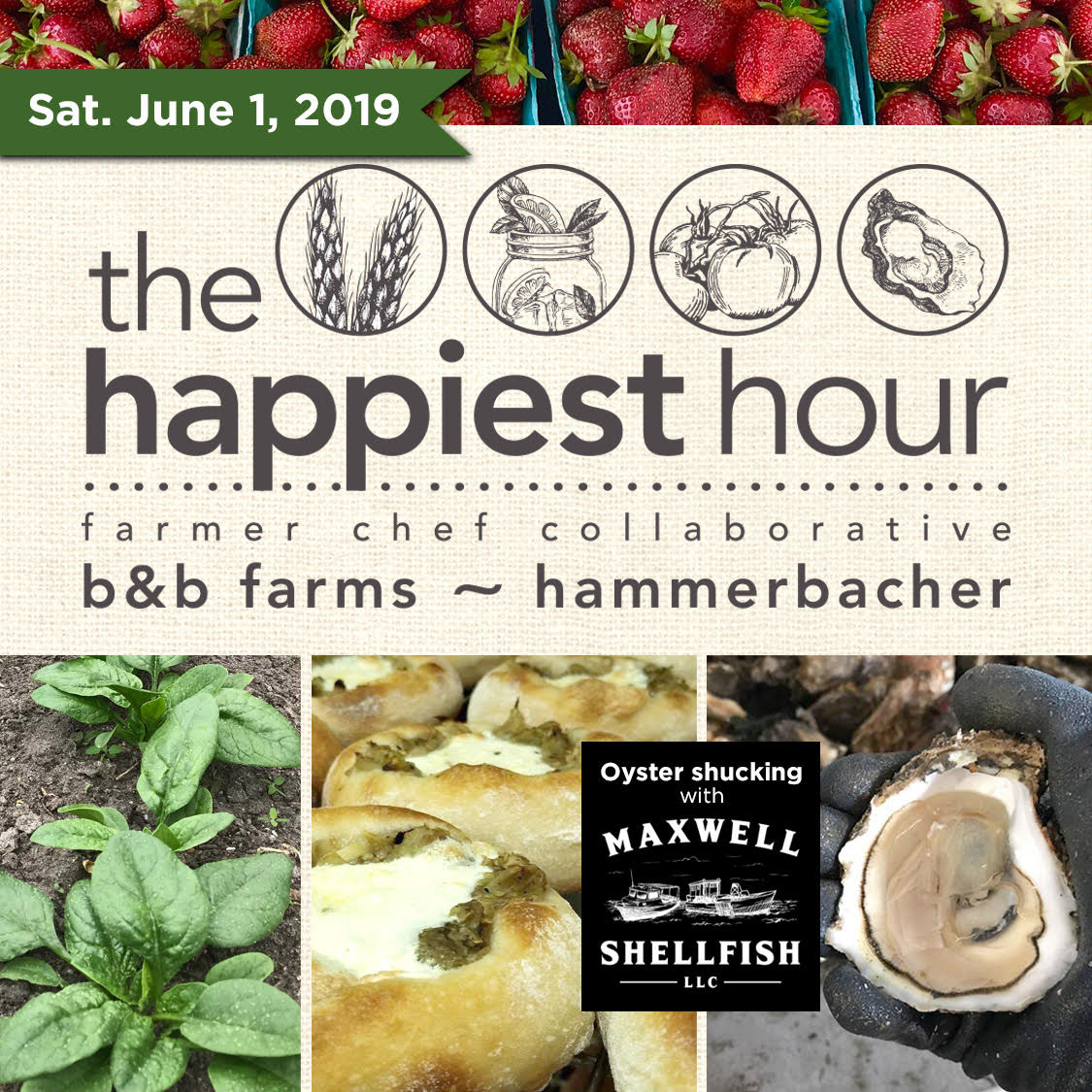 June 1st - The Happiest Hour - 4:00 PM - 7:00 PM