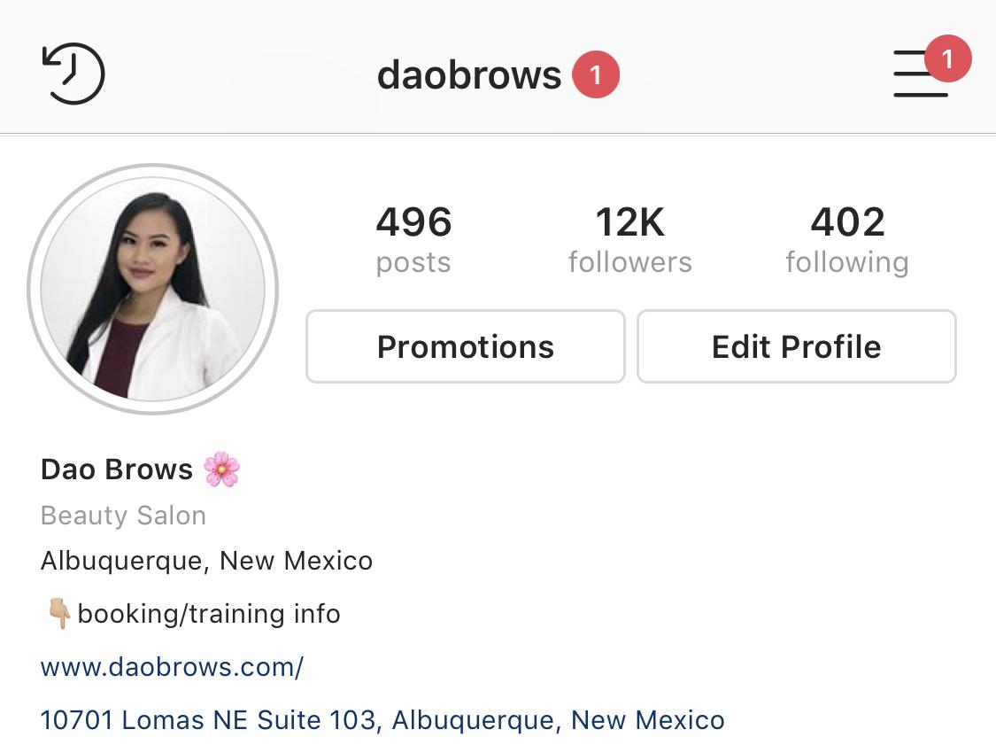 Follow me on Instagram @daobrows for more photos & videos!