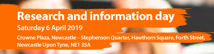 We gave an overview of our SMA research at the MDUK Research and information day. - April 6th 2019