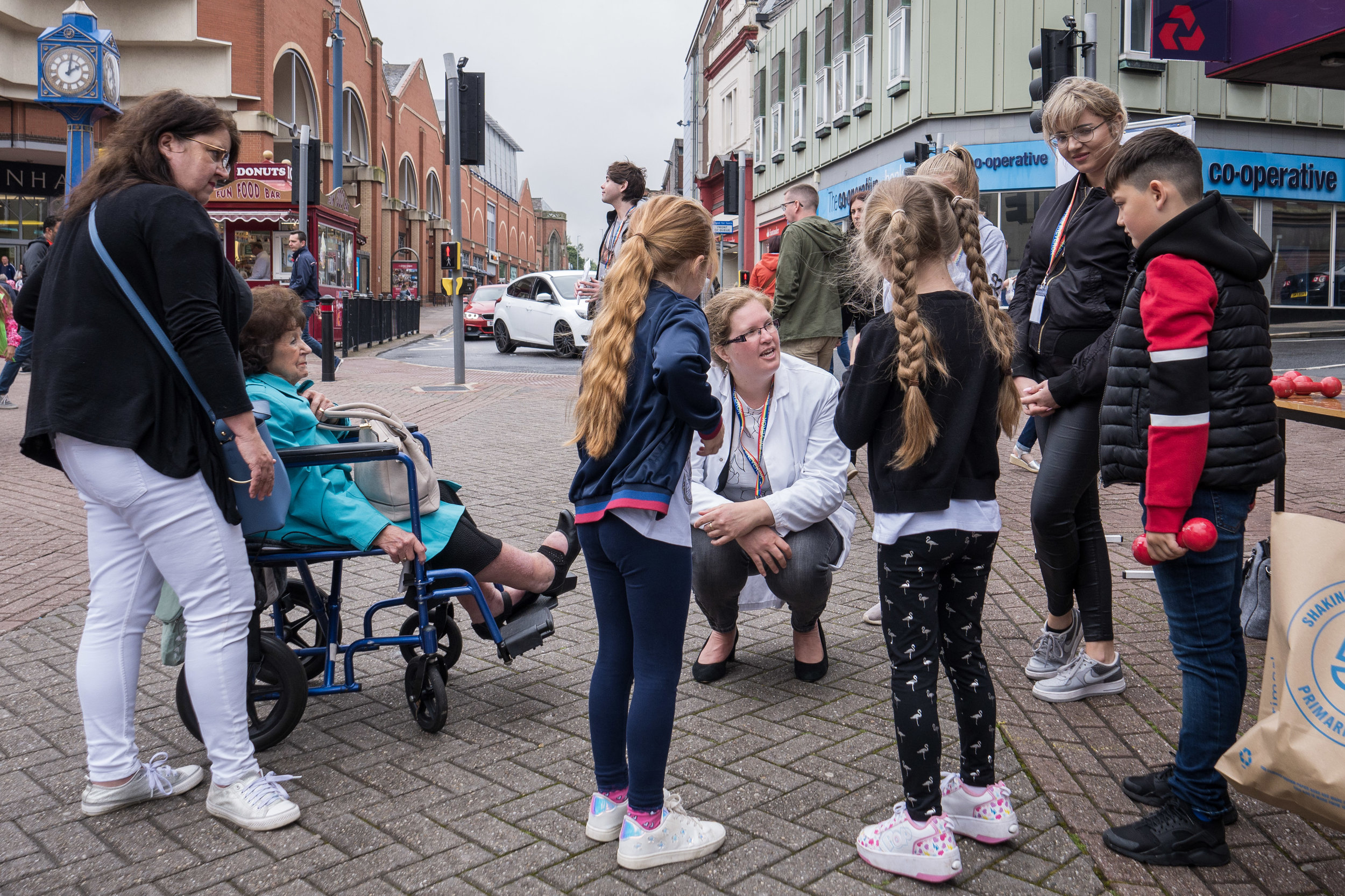 We shared our research on muscle in health & disease at Soapbox Science, Stoke-on-Trent - July 6th 2019