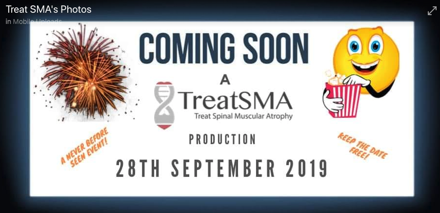 We shared our research during the Live TreatSMA SMA Awareness Day - September 28th 2019