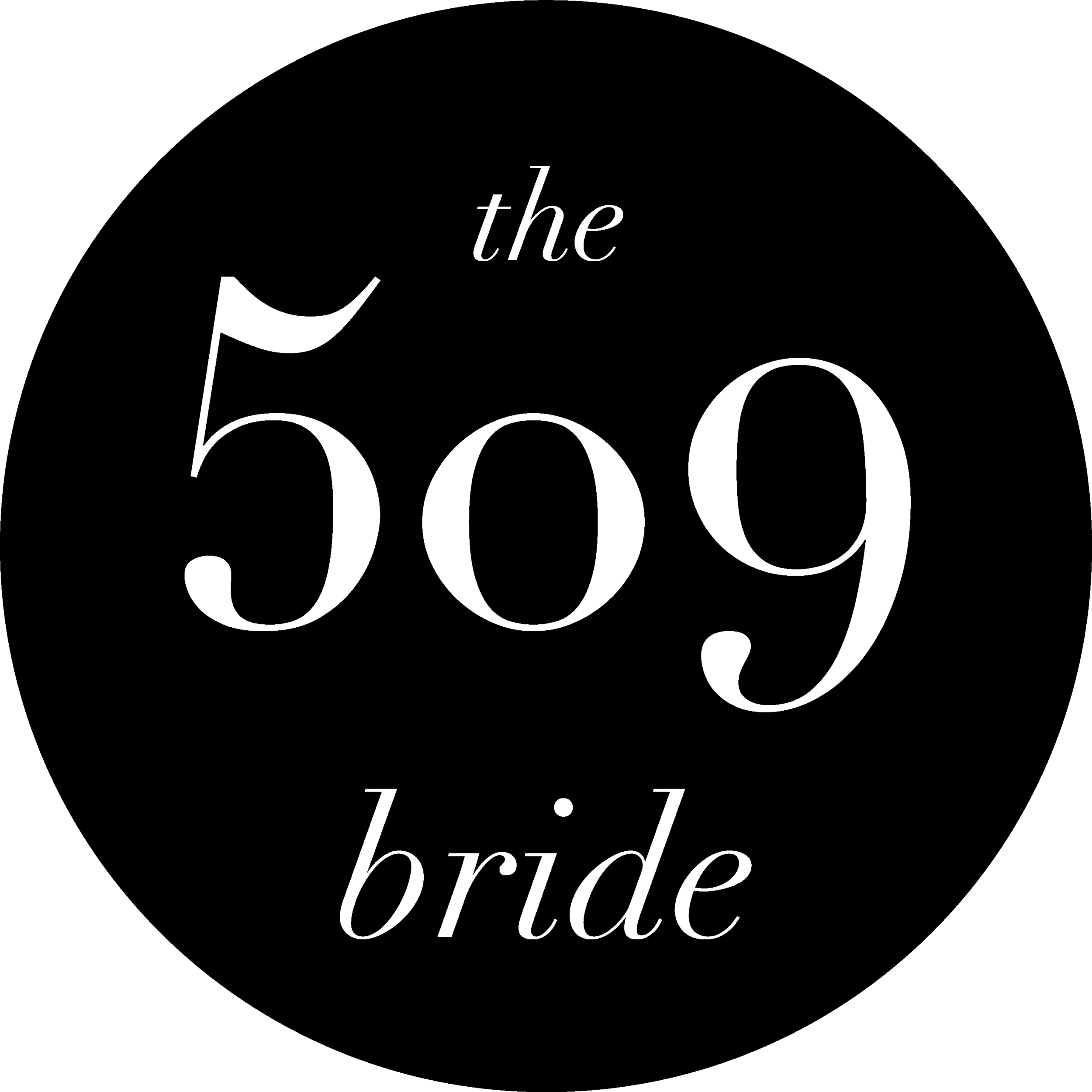 The 509 Bride_Tri Cities_tri cities wedding vendor_wedding_South East Washington_wedding vendor_wedding planning_509_best tri cities wedding vendors_Wedding vendor_509 Bride logo_The 509 Bride logo_logo_logo design