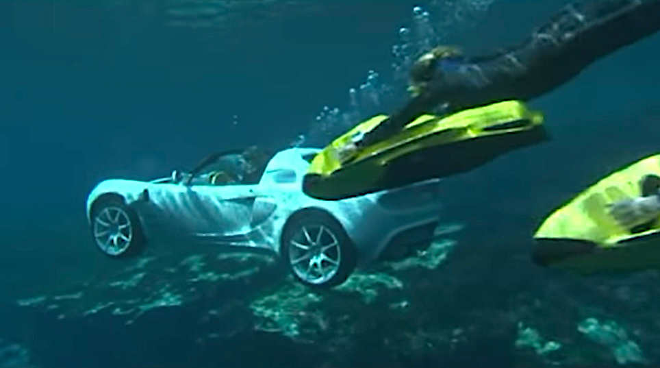 I Wonder Why This James Bond Style Underwater Car Didn T