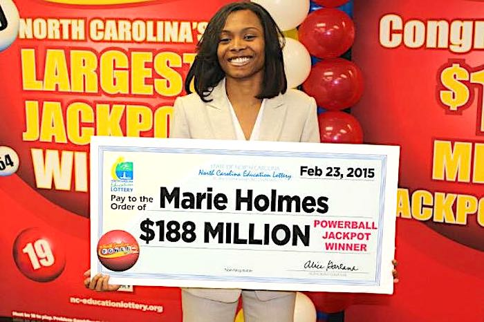 20 strange facts about $188M Powerball winner Marie Holmes you may
