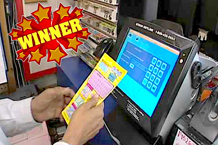 Does the lottery store machine really have to chime for