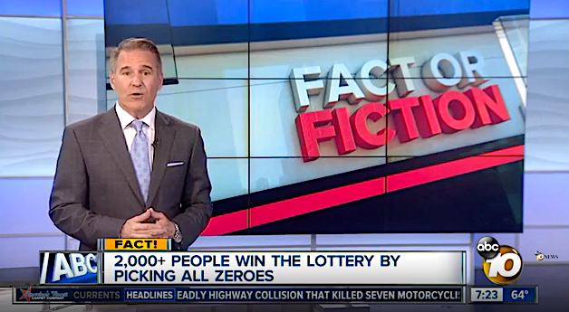 This unusual set of Pick 4 lottery numbers triggered the biggest