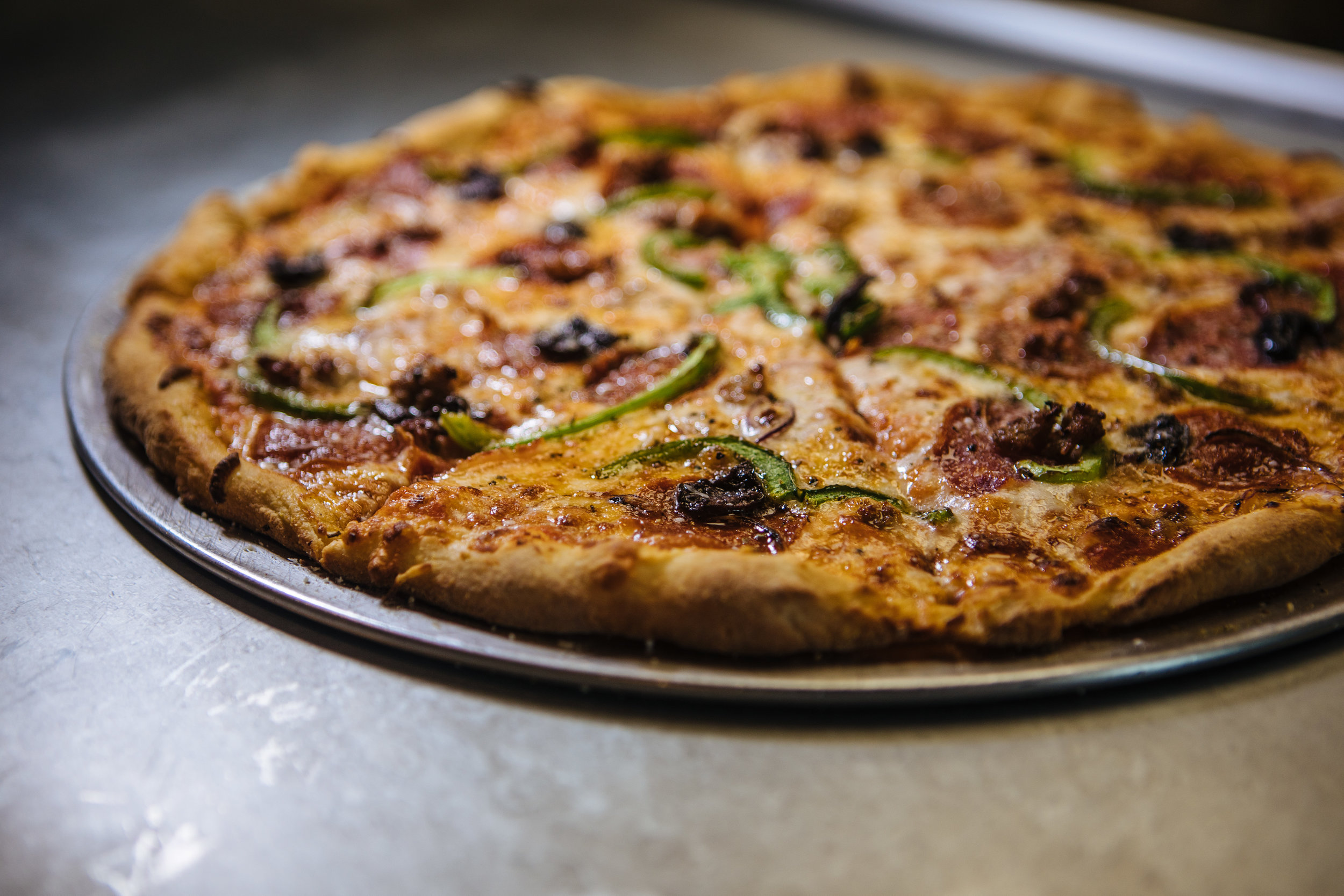 "Pizza - 8"" -or- 16""8"" pizza available until 5 pm 