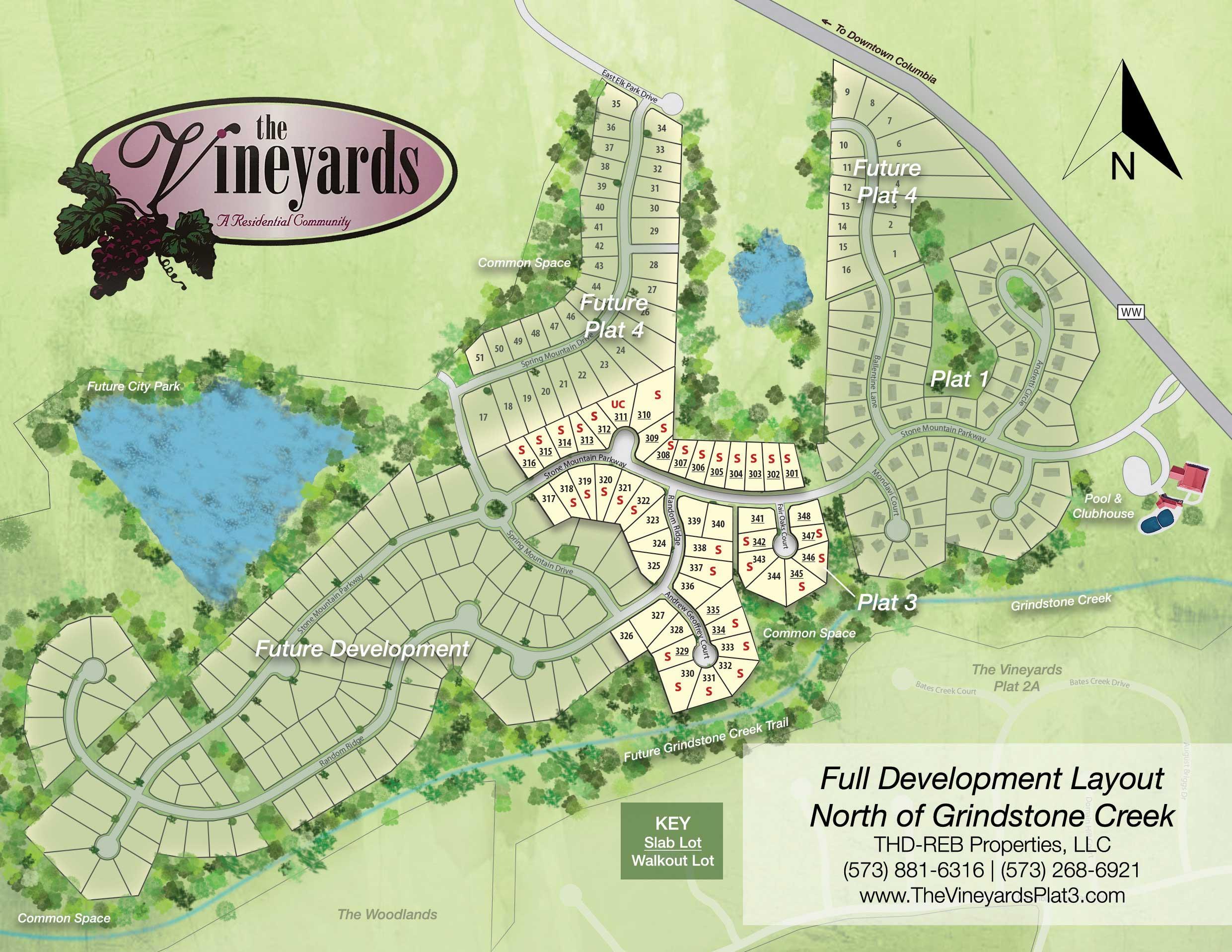 Vineyards Plot Map