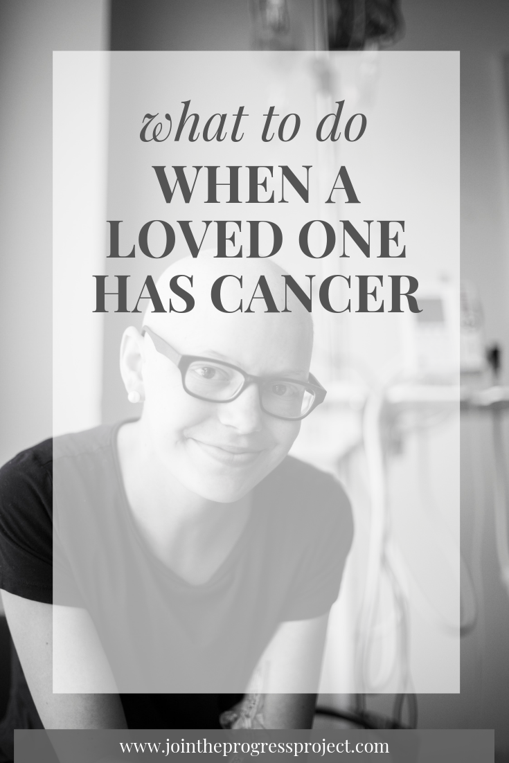 What to do when a loved one has cancer. The best ways you can support them and yourself.