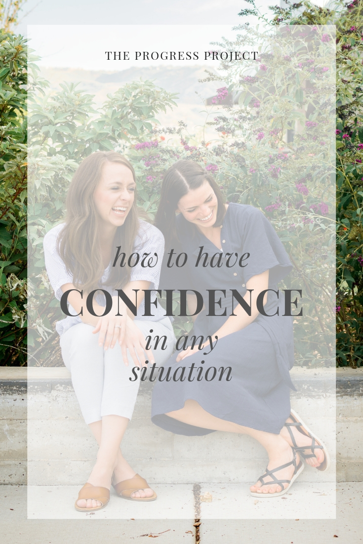 How to have confidence in any situation. Confidence can be developed, even if it doesn't come naturally to you!