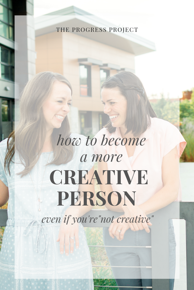 What does it really mean to be creative? What do you want to create more of in your life? Click through for a list of ways you can add creativity to your life, the power of recognizing, naming, and owning the creative things you're already doing, and how we can ignite an emotion that will fuel our creativity!