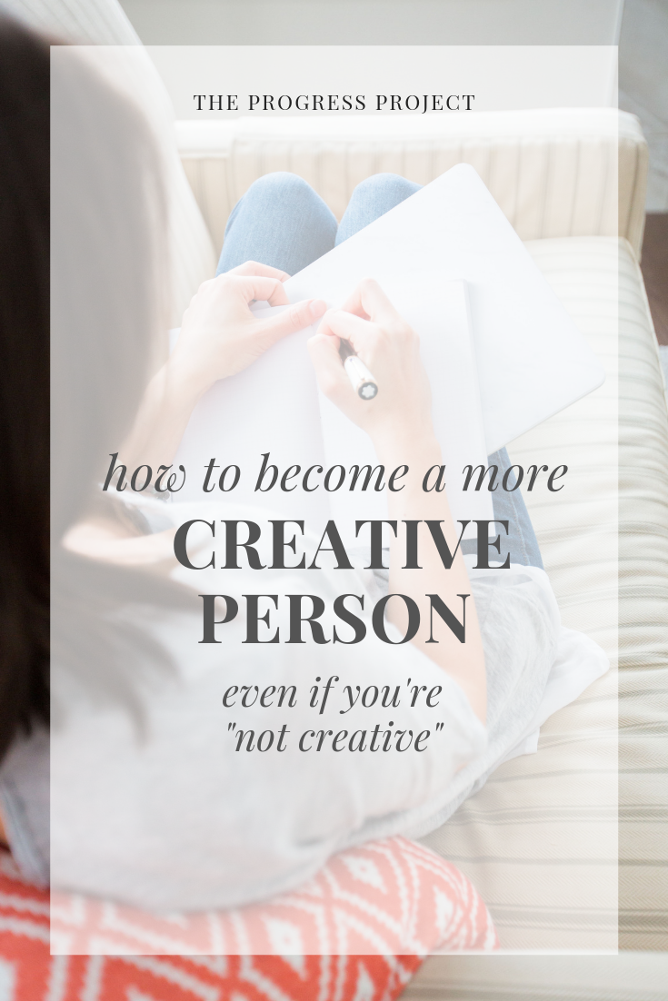 What does it really mean to be creative? What do you want to create more of in your life? Click through for encouragement & ideas to help you discover where in your life you can spark some creativity.