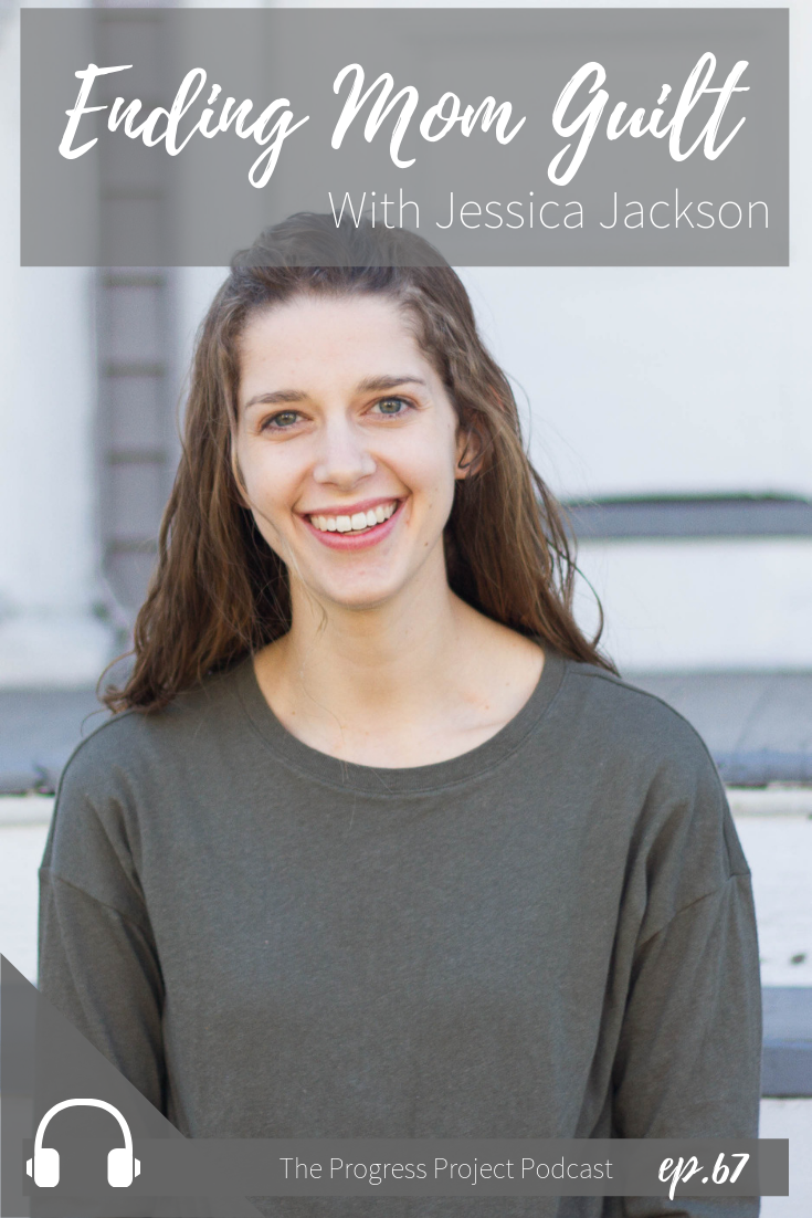 "In this podcast episode, we're talking about mom guilt! We know it's not helpful so how can we set aside the ""should statements""? Our guest, Jessica Jackson shares with us the phrase she uses instead. Click through to listen or read the recap."