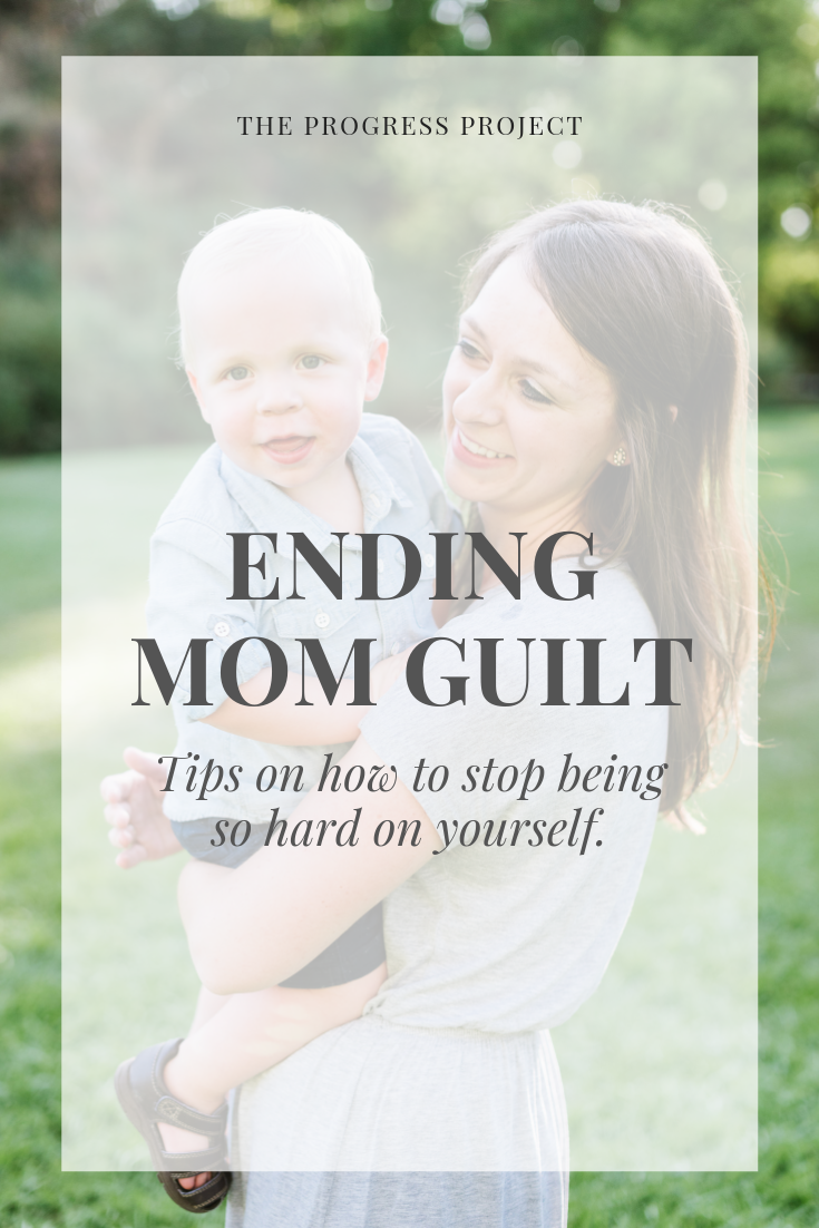 Have you ever thought about guilt as an opportunity to CHOOSE? Instead of thinking things have to be either/or, see if you can find another option. This tip (and the others in this post!) TRAIN our brains to overcome the habit of feeling guilty.