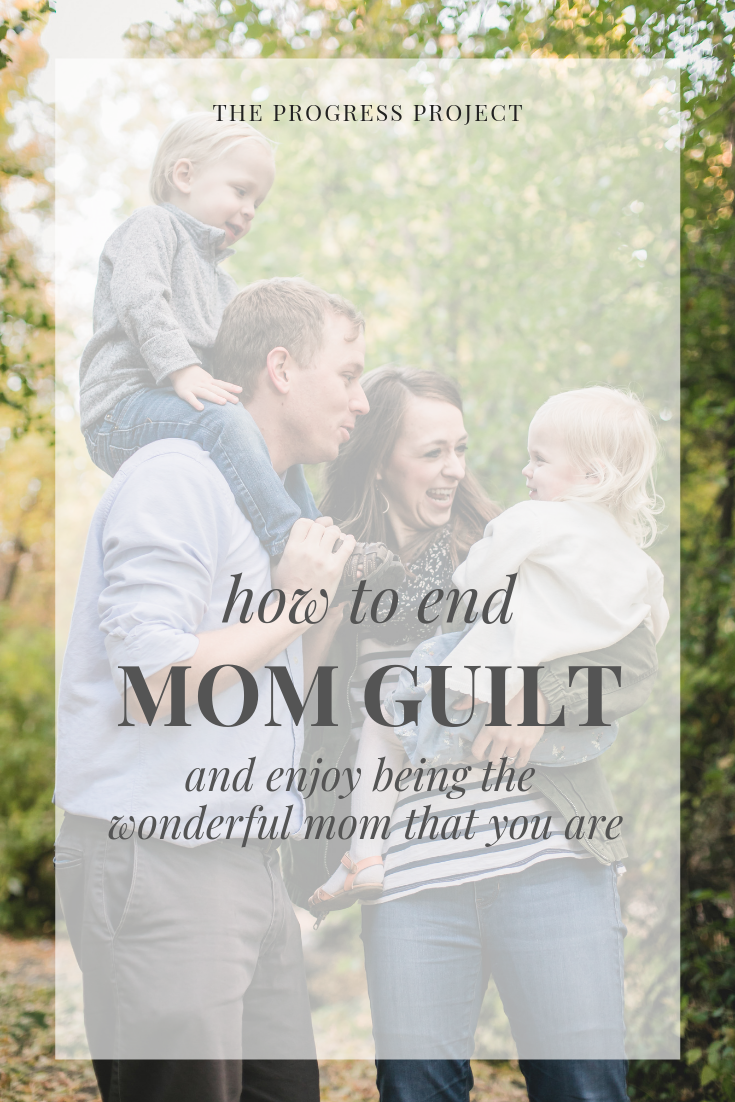 Letting go of the guilt teaches us to be okay with messing up and with not making the right choice all the time. We don't have to be perfect! It's all about growth, choices, and the chance to progress. In this podcast episode, we're talking about mom guilt!