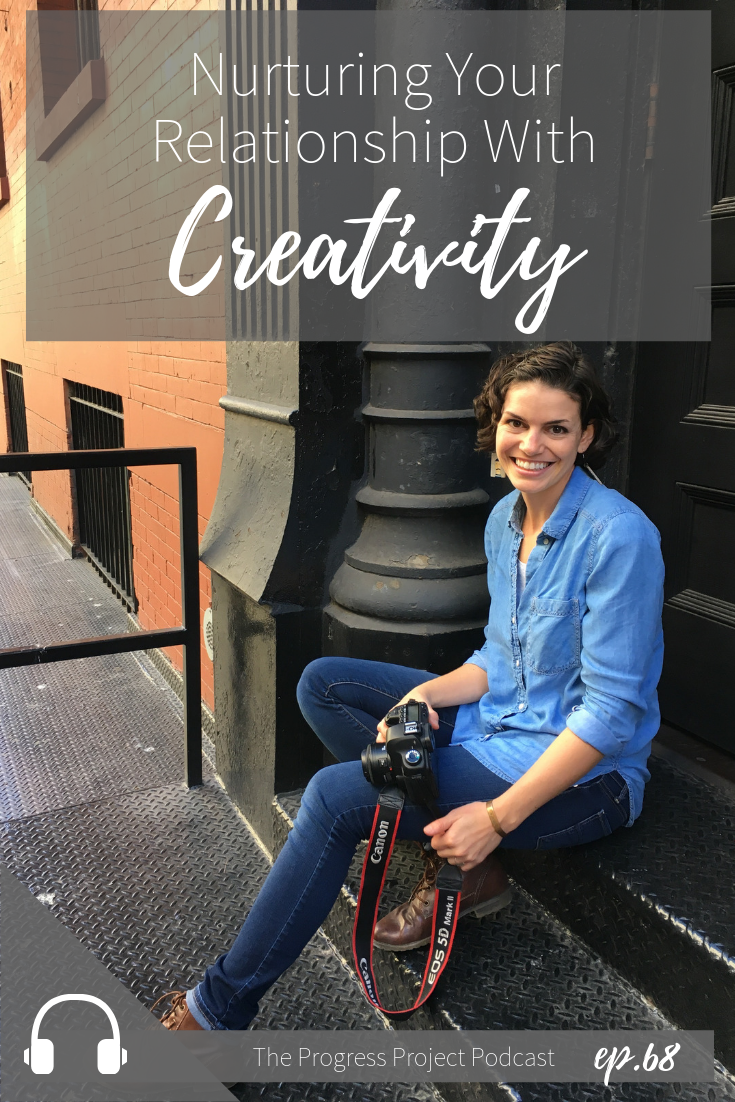 We're taking a different spin on creativity! If your marriage or relationship was lacking, you'd want to give it some extra time and attention and love right? What if you thought of your creativity as a relationship that needed similar nurturing? That's the idea we're chatting about in today's podcast episode.