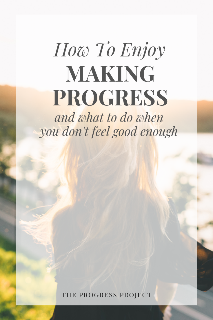 What happens when you're striving to improve but you feel impatient for the outcome or it doesn't feel like you're actually making progress? We've both been facing questions like this so it inspired a conversation about how to progress in healthy ways. Click through to our site for a recap of the episode!