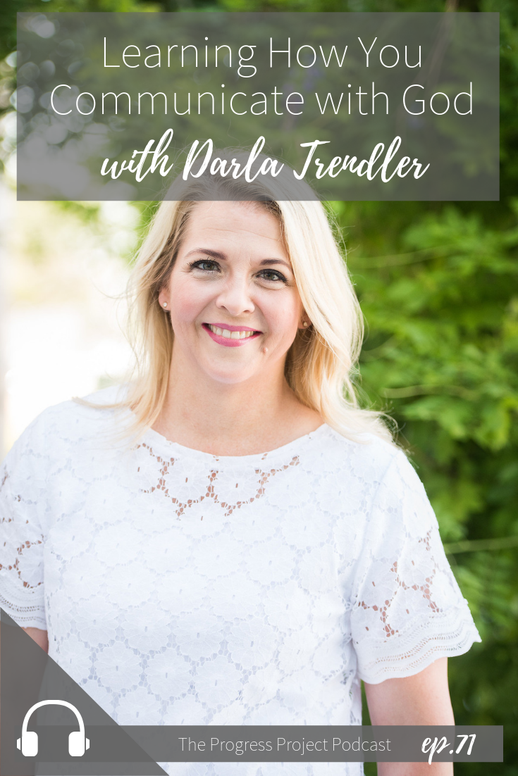 Do you want more connection and communication with God? In our latest episode of The Progress Project, we're talking with Darla Trendler about partnering with God in all aspects of our lives, but especially motherhood. Click through to listen in or to read a recap of the episode!