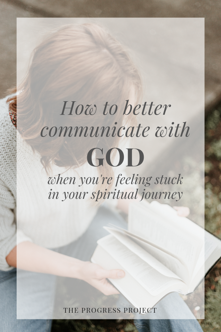Feeling stuck in your spiritual journey? Listen in on our latest conversation where we chatted about creating an environment that invites God's presence in our lives, how to partner with God and communicate with Him in a new way, and the secret to dealing with overwhelm (this part is life-changing!). Click through to our site for a recap of the episode!