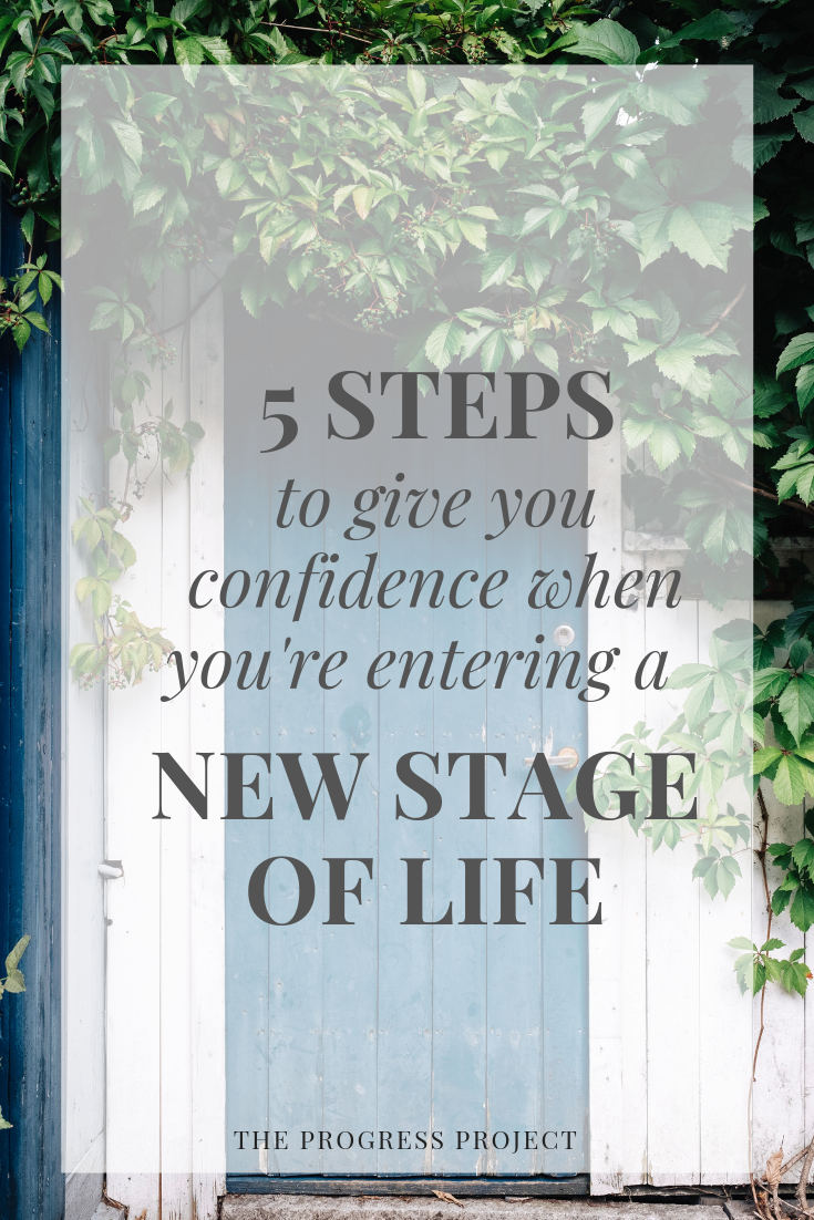 Any kind of major life change (even the good ones!) can throw you into a tailspin. We've got 5 steps to give you confidence in navigating this new phase of life. Click through to our site for a recap of this episode.