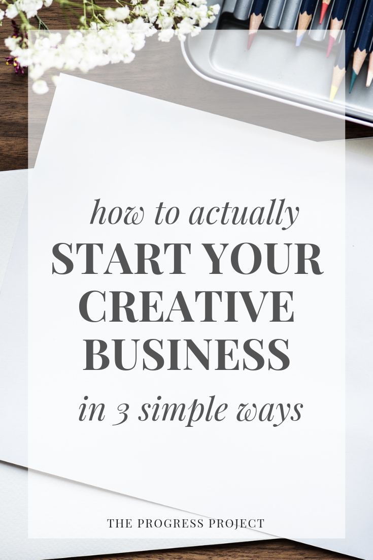 We're talking about BUSINESS this week on the podcast! Do you have a creative business idea you've always wanted to start? Do you have a creative gift you think the world should know about? Click through to hear our best tips for getting started in a SIMPLE way. You can do this!