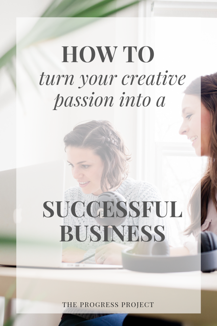 This is for anyone who has or dreamed of having their own business! Click through to learn how business itself can be an amazing form of creativity and what to do if you feel the pull to turn your creative passion into a business.