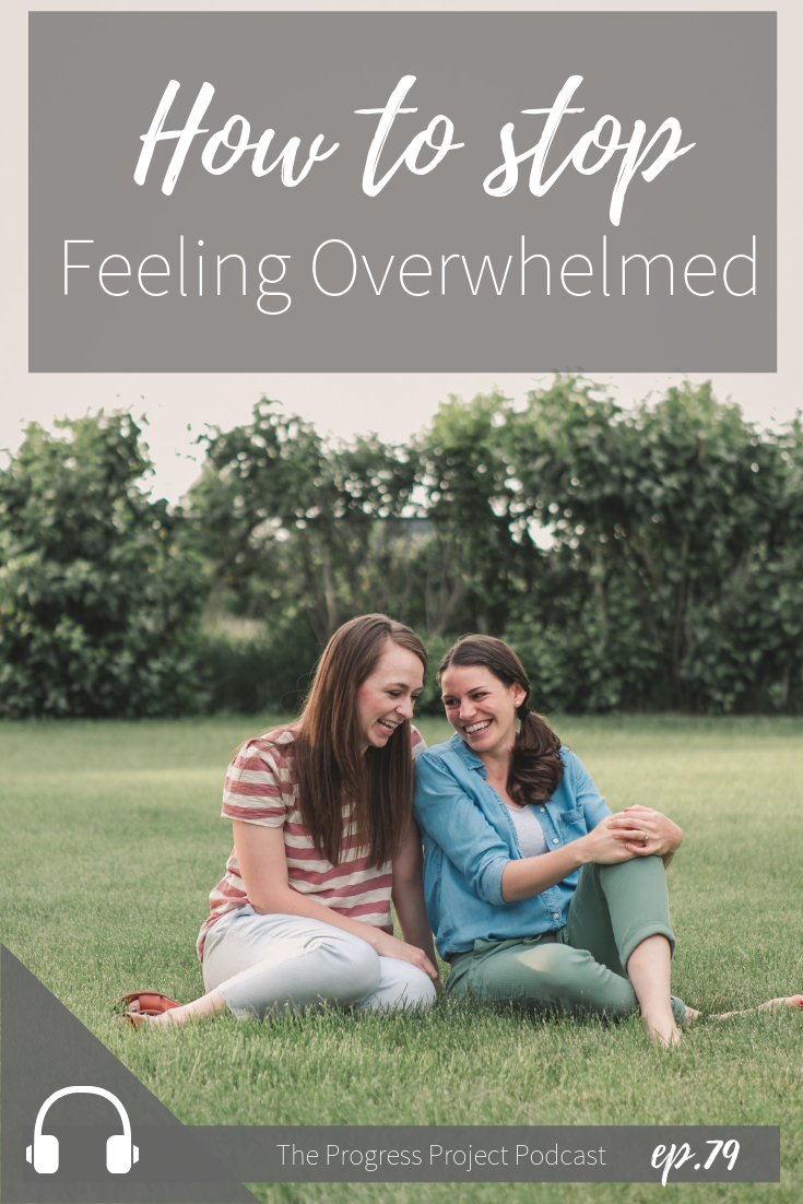 If you're like most of us, feeling overwhelmed is a regular part of everyday life. But what if it didn't have to be? In this episode, we're diving into the question of whether we can truly find a way out of feeling overwhelmed on a regular basis. Click through to our site for a recap of the episode!