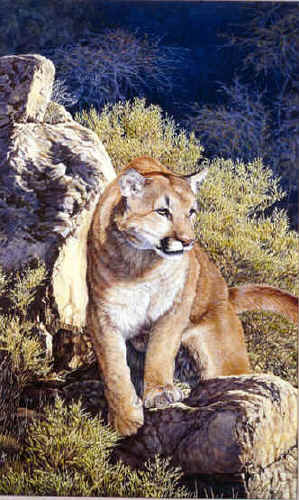 """American's Lion""  by Dennis Curry"