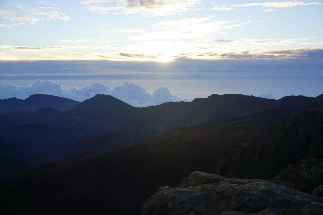 Sunrise over Haleakala crater on Maui, Hawaii. boldlygotravel.com