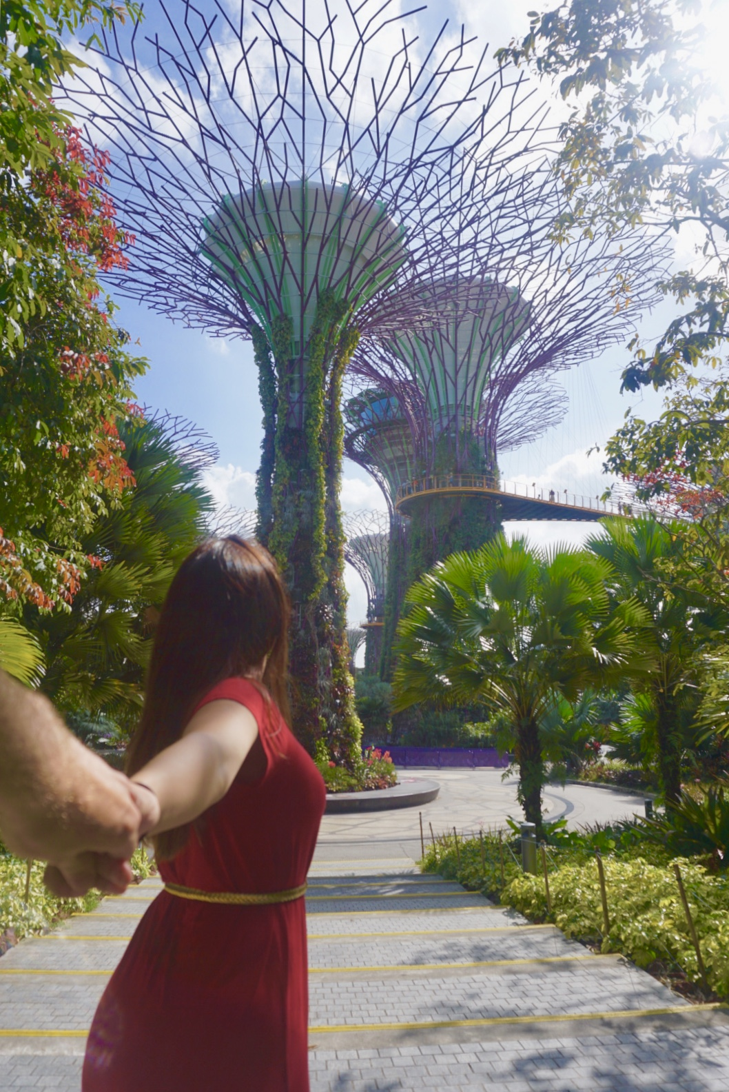 Follow me to the Singapore Gardens by the Bay. boldlygotravel.com