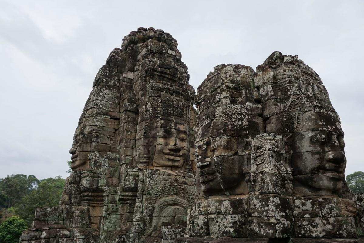 Buddah faces of Angkor Thom, Cambodia. boldlygotravel.com