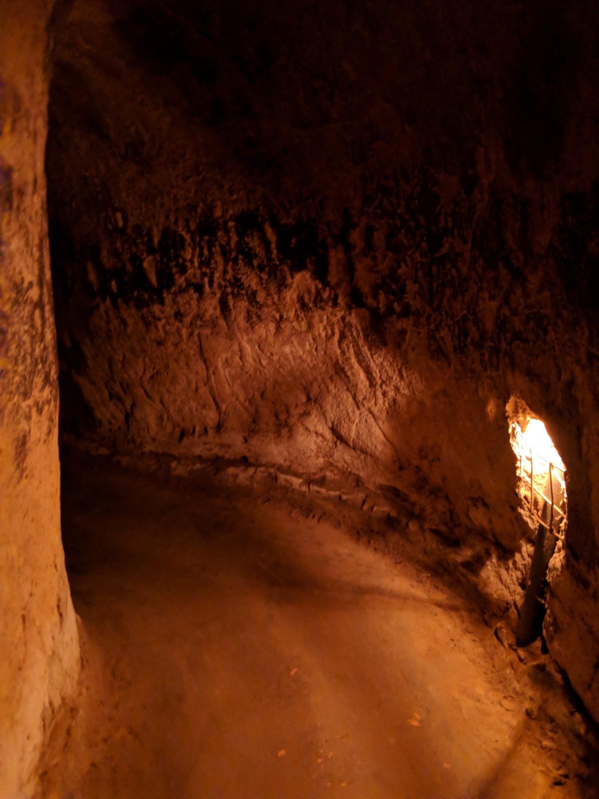 Inside the Chu Ci tunnels of Vietnam. boldlygotravel.com
