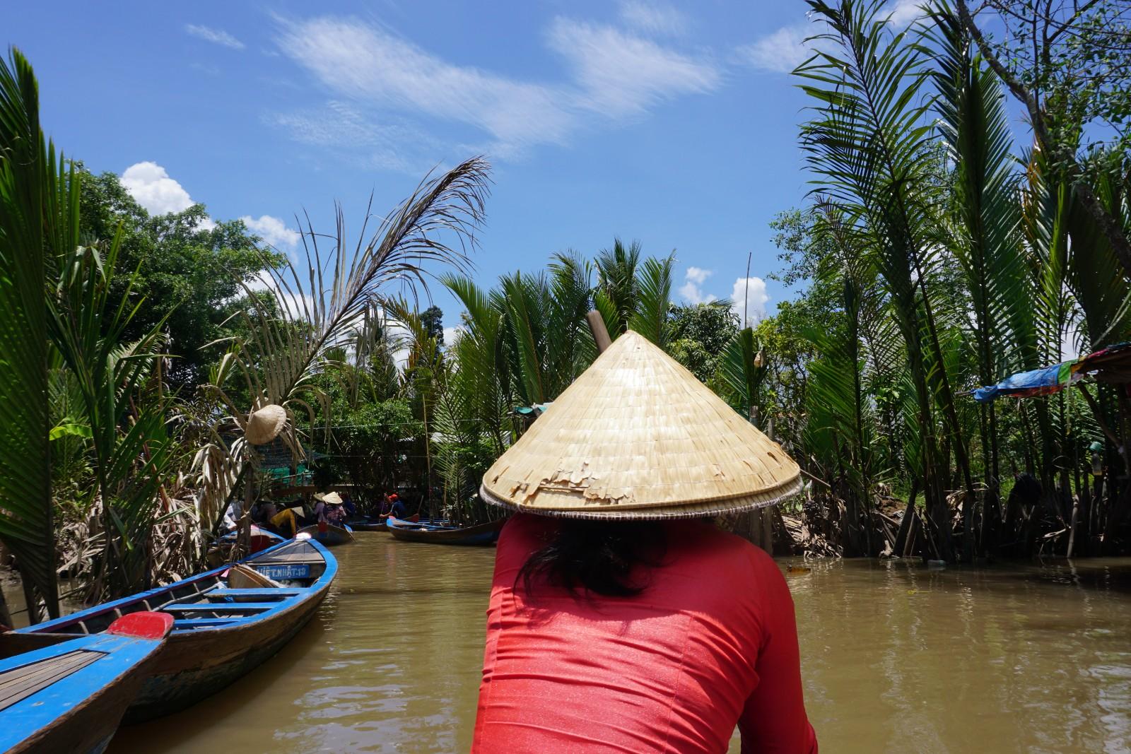 Traditional scene of the Mekong River in Vietnam. boldlygotravel.com