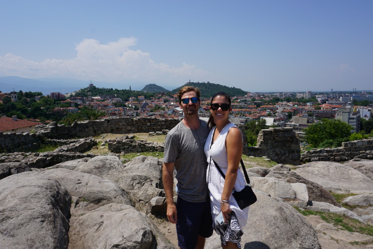 looking over Plovdiv
