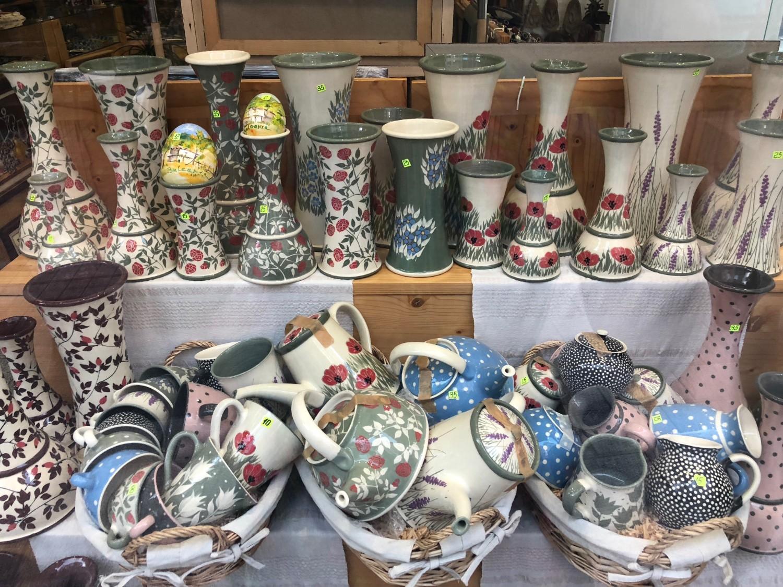 Bulgarian Pottery in Plovdiv