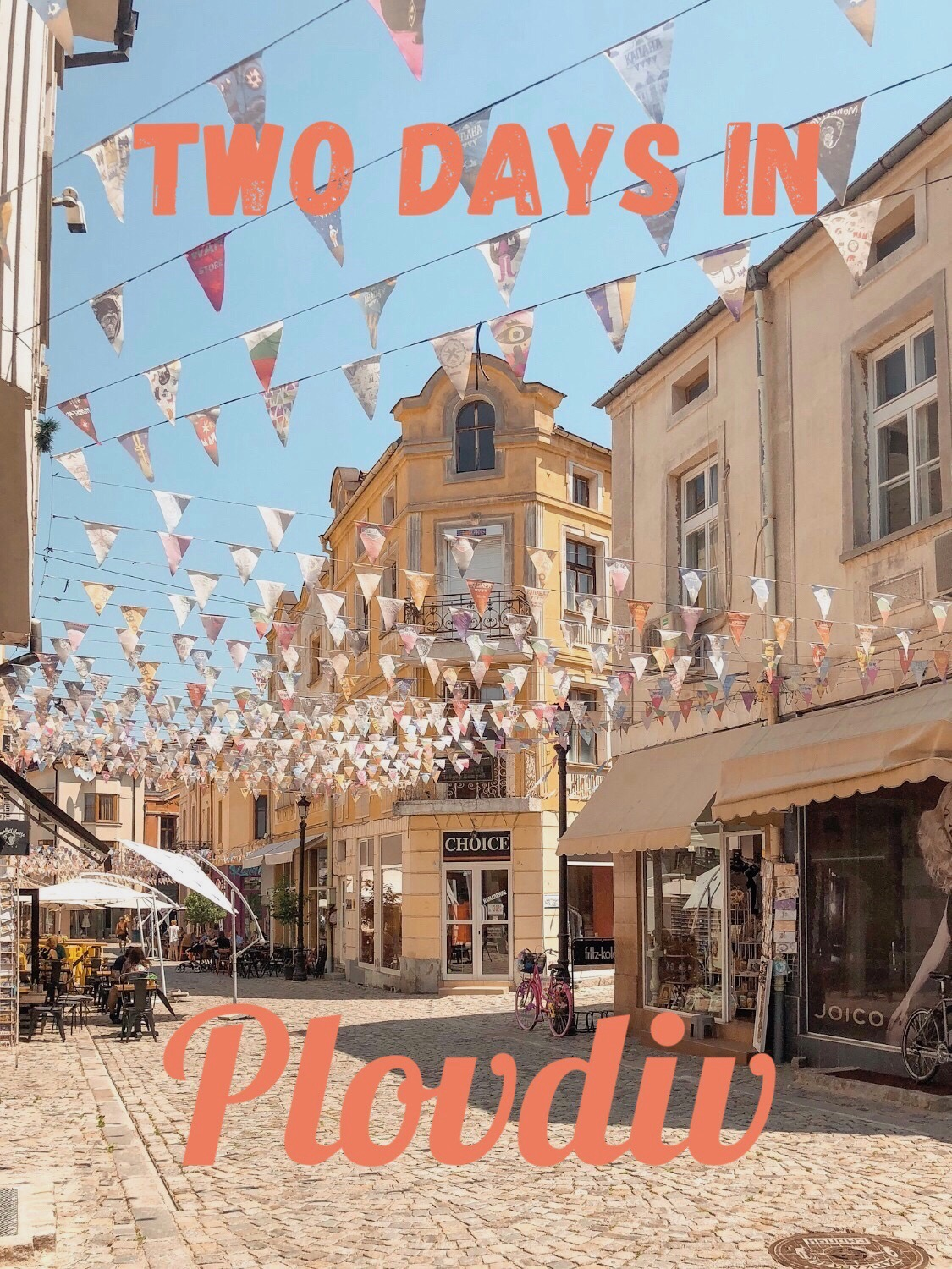 two days in Plovdiv Bulgaria by Boldly Go Travel.