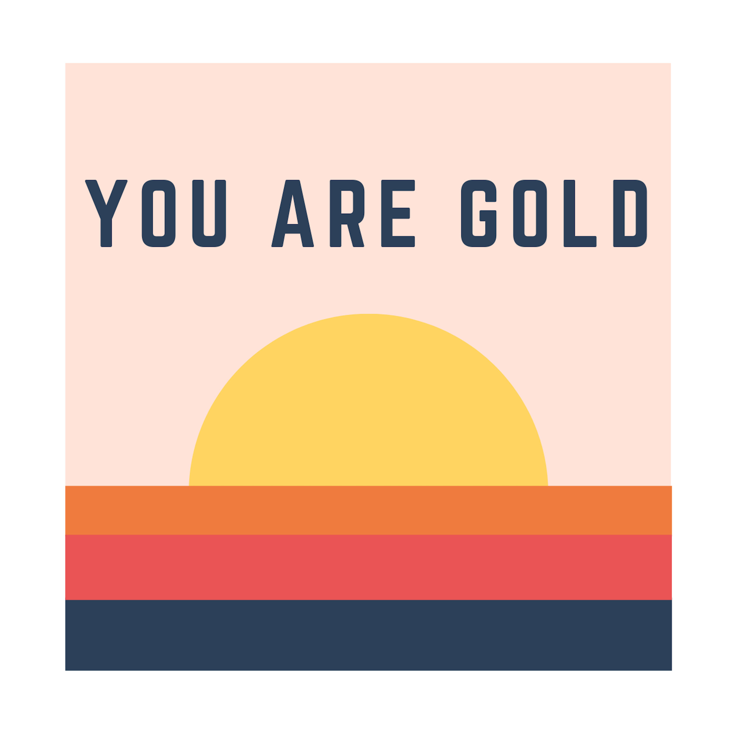 YOU ARE GOLD - DROPPING EVERYWHERE OCT 11