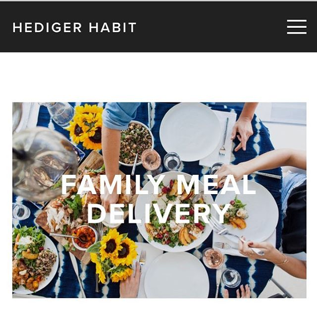 Can't swing a private chef? @hedigerhabit goodness is now available for weekly delivery in Manhattan and Brooklyn! We are growing and ready to get you the healthy, real food that makes the family meal easy again. Online ordering for 05/02 is LIVE (link in bio)