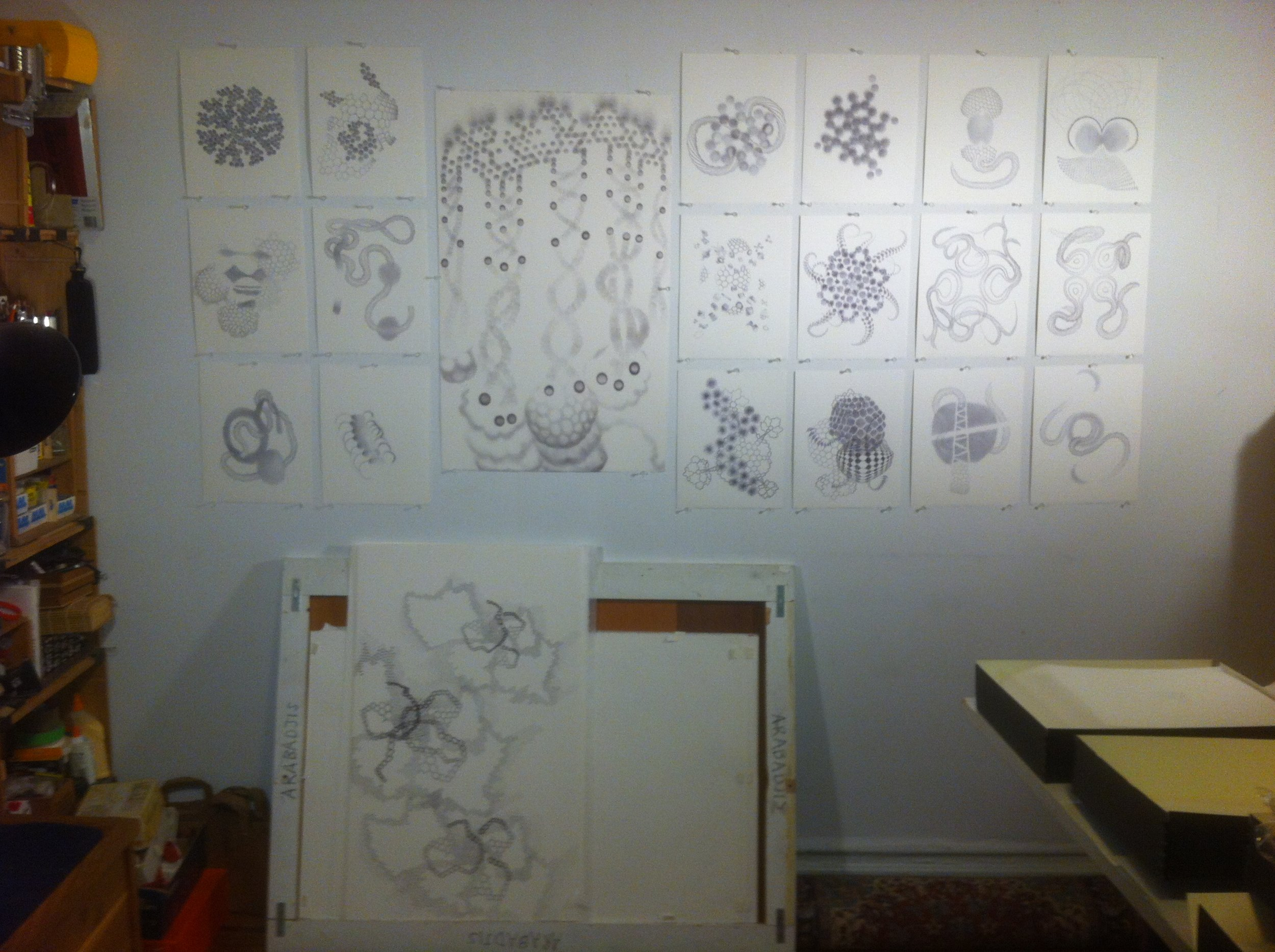 Work in progress, 2012