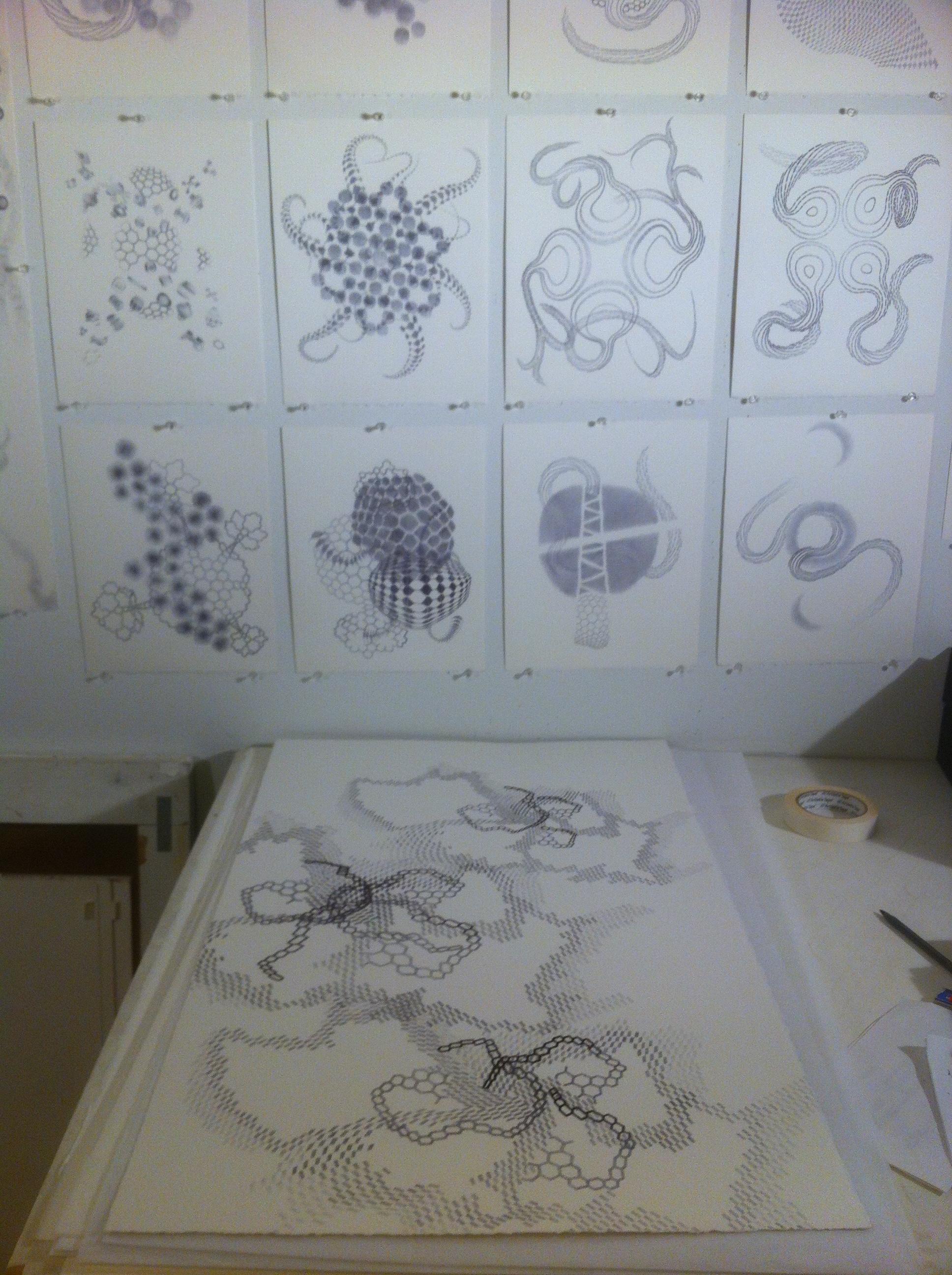 Work in progress, 2012