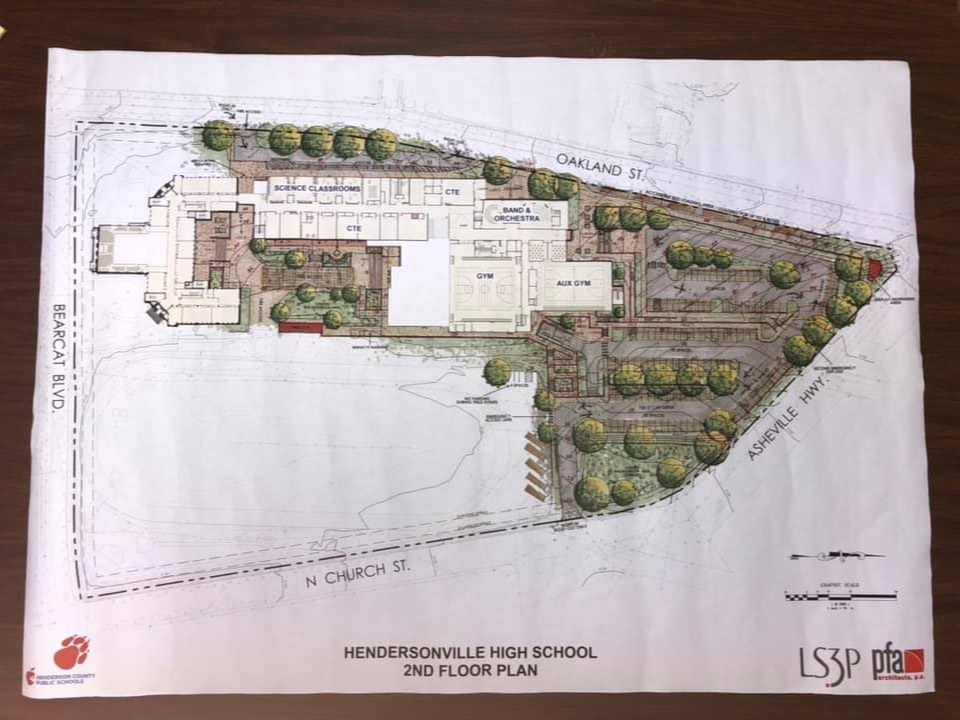 new hendersonville high school drawings