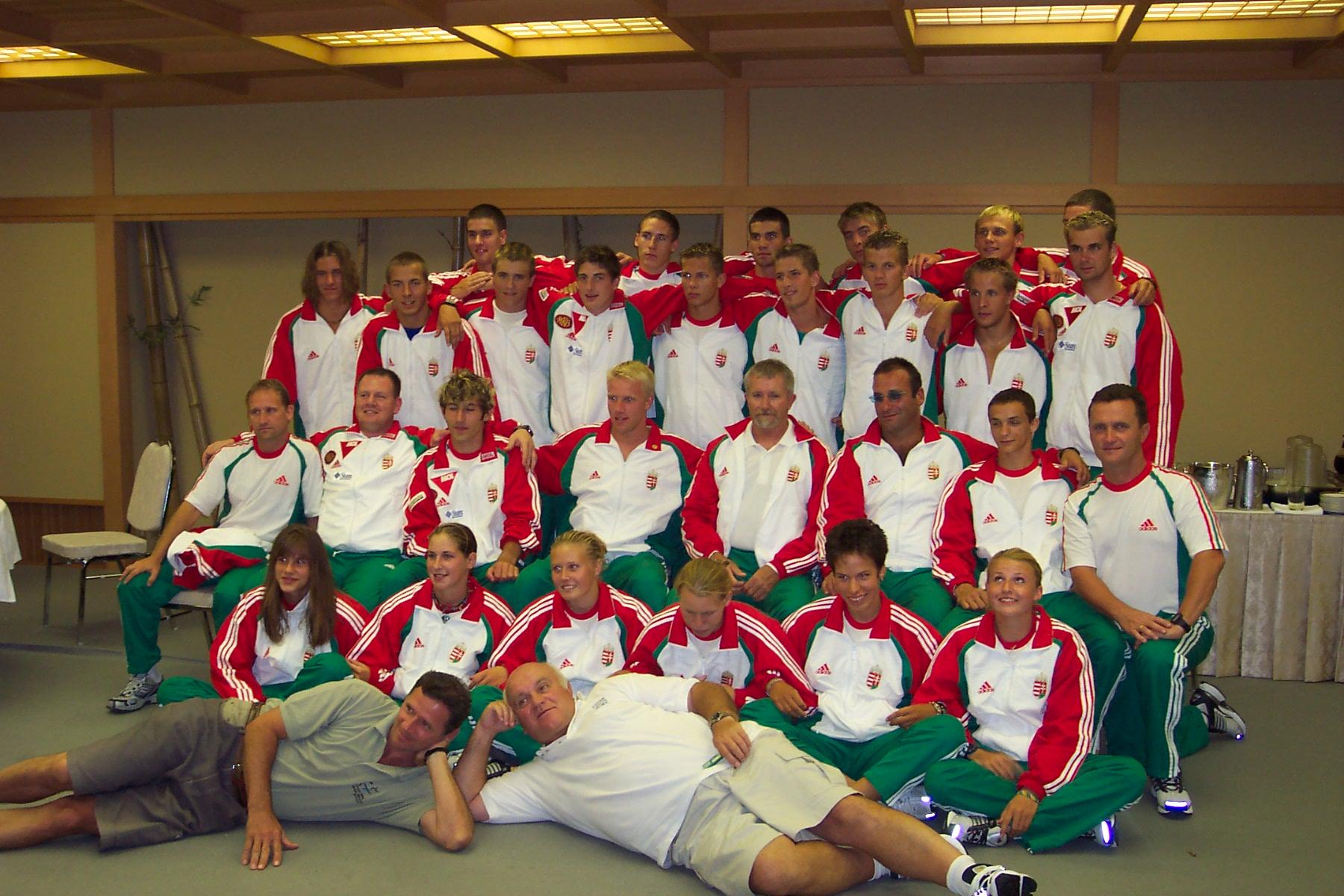 2003-as Ifi VB csapat Japánban