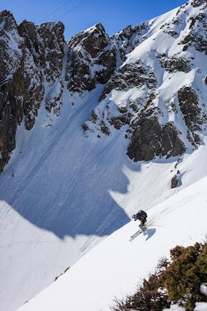 Men's Health skiing