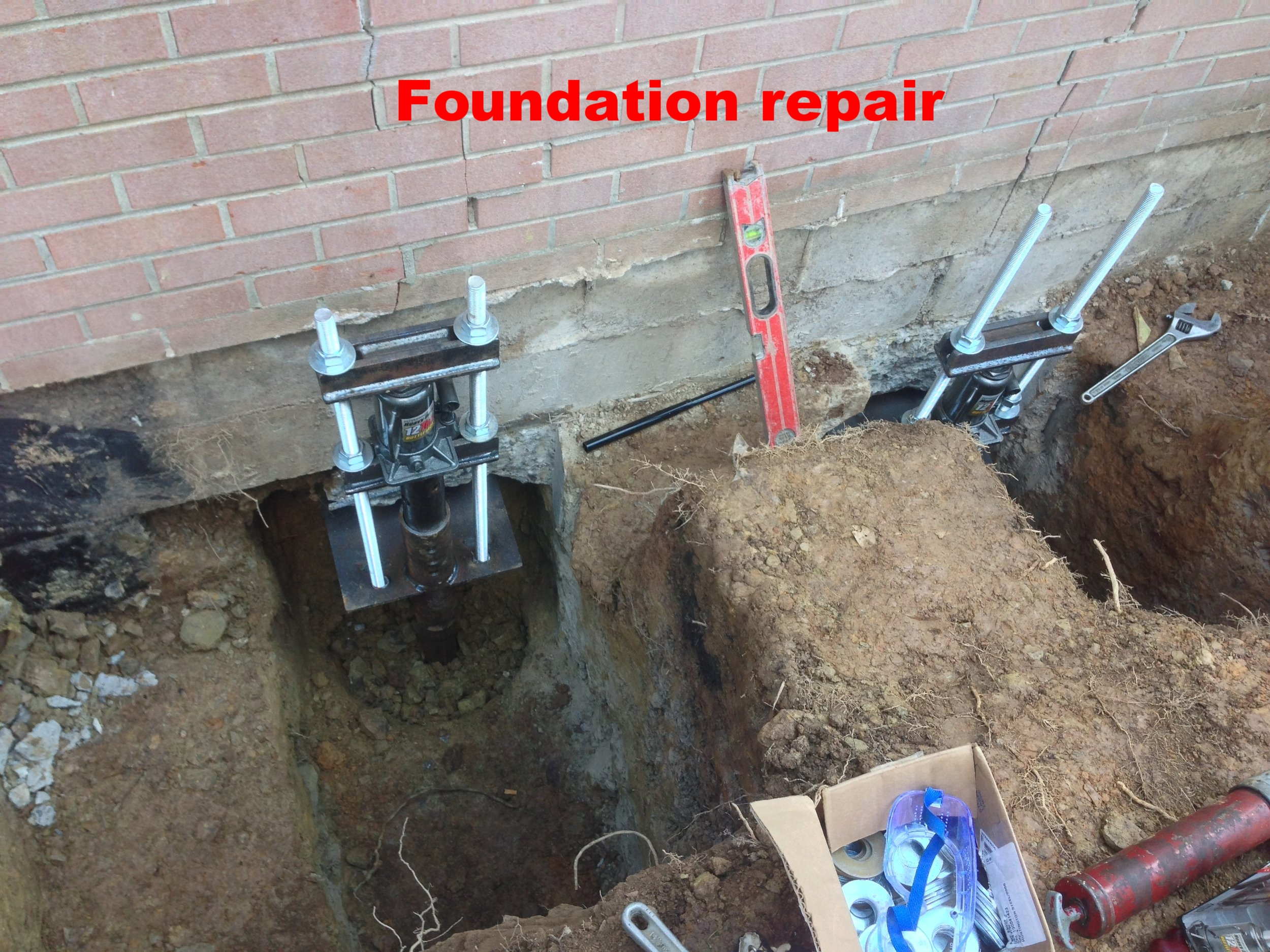Foundation repair,